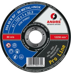 Extra ściernica metal/inox 41 115×1,0x22,2