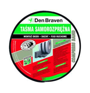 Zwaluw Taśma Compressband 10/2 szary 10m/rolka