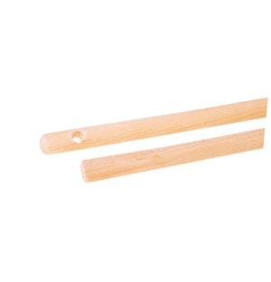 Kij fi 22 do szczotki 120/130cm drewniany